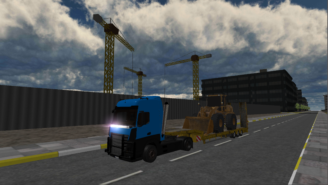 International Truck Driving Simulator