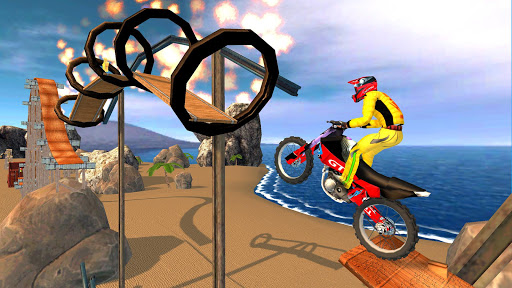 New Bike Racing Stunt 3D : Top Motorcycle Games 0.1 screenshots 6
