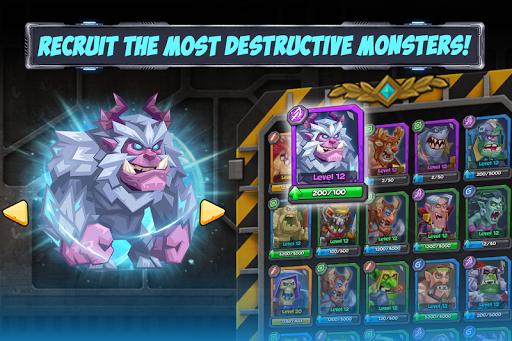 Tactical Monsters Rumble Arena -Tactics & Strategy screenshots 3