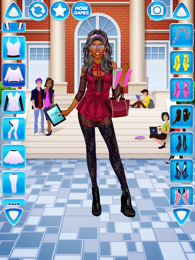 College Student Girl Dress Up android2mod screenshots 10