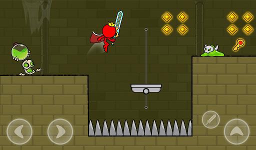 Red Stickman : Animation vs Stickman Fighting android2mod screenshots 23