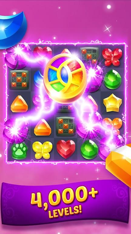 Genies & Gems - Match 3 Game poster 2