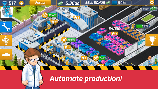 Idle Car Factory: Car Builder, Tycoon Games 2021🚓 5