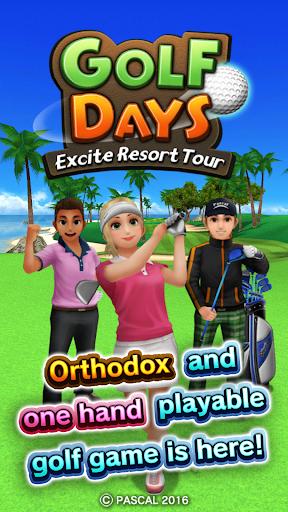 Golf Days:Excite Resort Tour  screenshots 1