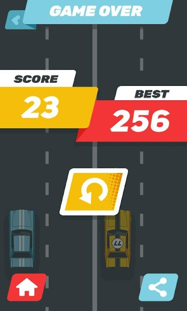 Screenshot 4 de carrera de coches rápida tiroteo d venganza juegos para android