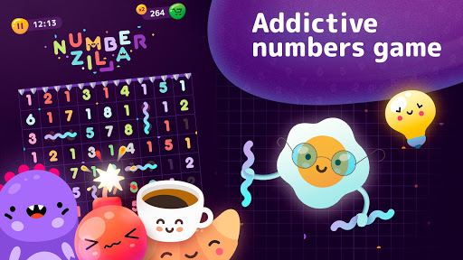 Numberzilla - Number Puzzle | Board Game 3.5.1.0 screenshots 7