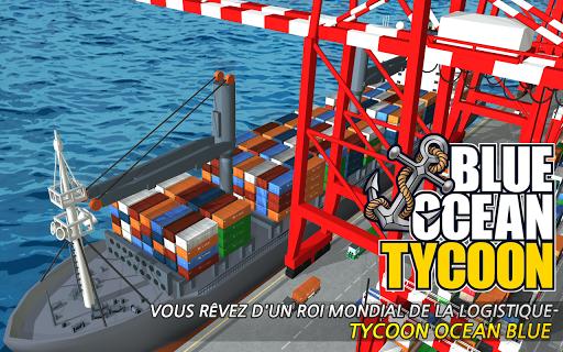 Blue Ocean Tycoon APK MOD – Pièces de Monnaie Illimitées (Astuce) screenshots hack proof 1