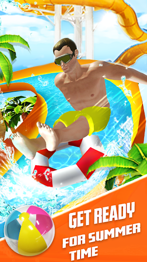 Water Slide Summer Splash - Water Park Simulator apkmr screenshots 17