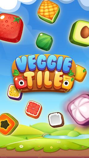 Veggie Tile - 3 Tiles Mahjong Match 1.1.2 screenshots 1