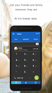 MobileVOIP Cheap international Calls MOD APK (Unlimited Credits) 1