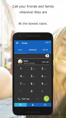 MobileVOIP Cheap international Callsのおすすめ画像1