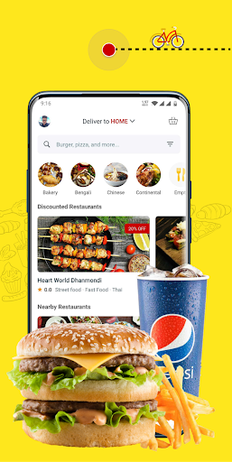 eFood - Express Food Delivery 1.6 screenshots 1