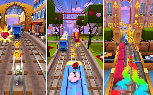 Subway 3D Run Game: Surffer Rush apklade screenshots 1
