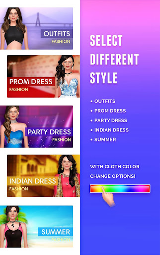 Code Triche Jennifer Lawrence Dressup - Fashion Salon 2020 (Astuce) APK MOD screenshots 2