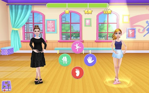 Dance School Stories MOD APK 1.1.28 (Unlimited Tickets, Unlocked Items) 6
