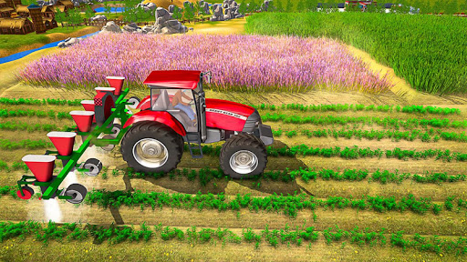 Farmland Tractor Farming - New Tractor Games 2021  screenshots 1
