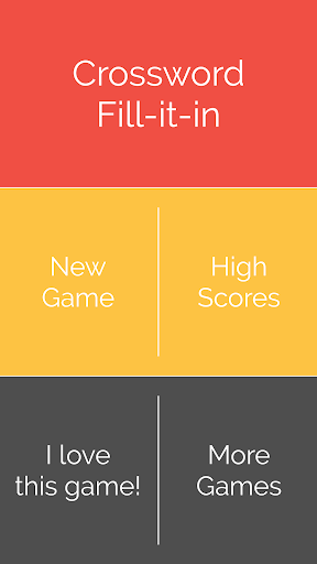 Crossword : Word Fill  screenshots 1