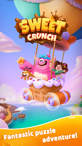 Sweet Crunch - Matching, Blast Puzzle Game  screenshots 1