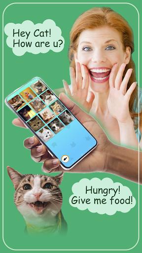 Cat translator. Cat sounds. Meow joke 3.6 screenshots 2