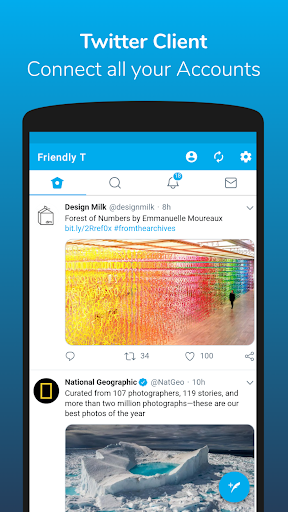Friendly For Twitter  Screenshots 1