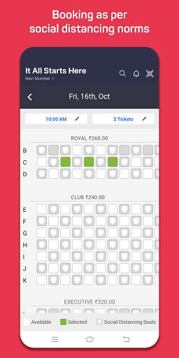 BookMyShow - Movie Tickets & Live Events screenshots 3