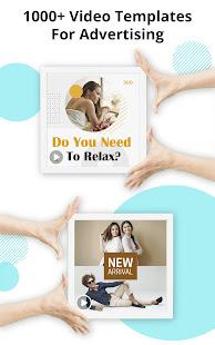 Marketing Video Maker, Promo Video Slideshow Maker screenshots 12