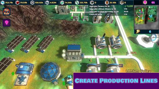 Idle Space Mining  screenshots 2