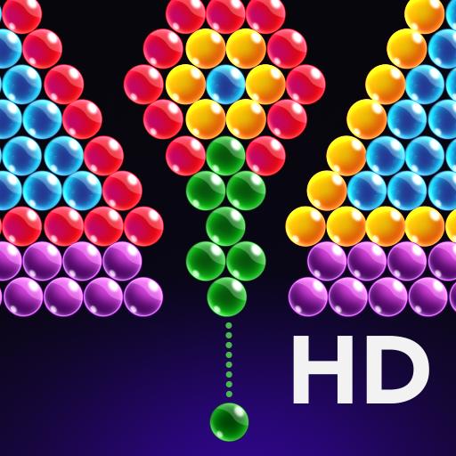 Bursting bubbles - breaking bubbles - Popping