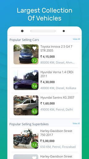 Droom - Buy or Sell Used and New Car, Bike, Scooty apktram screenshots 2