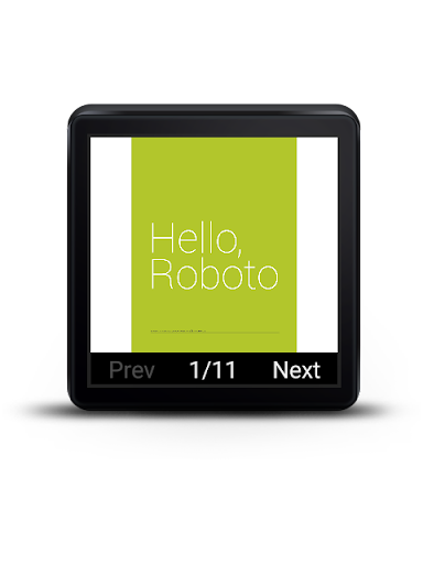 pdf reader for android wear screenshot 1