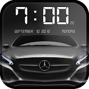 Cars Clock Wallpaper