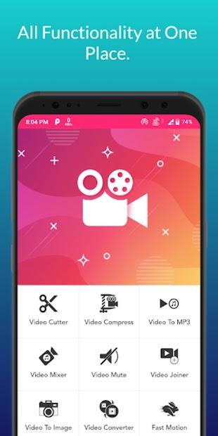 Video Audio Editor - Cutter/Compress/Mixer/Joiner screenshot 1