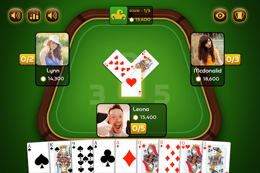 Do Teen Panch (2 3 5) - Indian Poker 3.1.3 screenshots 3