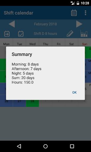 Shift calendar 1.9.0 screenshots 7