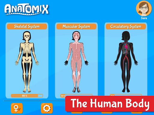 Anatomix - Human Anatomy screenshots 17