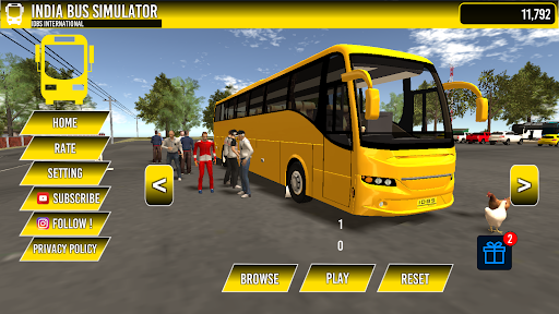 INDIA BUS SIMULATOR  screenshots 1