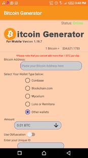 generatore di bitcoin mod)