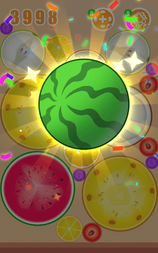 Fruit Crush - Merge Watermelon  screenshots 5