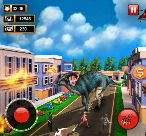 Monster Dinosaur Simulator: City Rampage 1.18 screenshots 9
