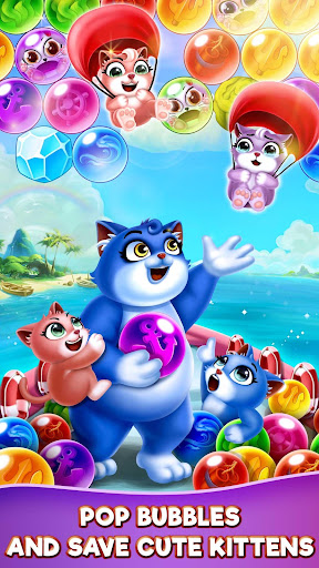 Cat Pop Island: Bubble Shooter Adventure screenshots 3