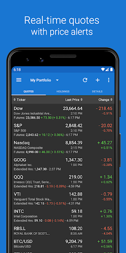 Foto do My Stocks Portfolio & Widget