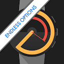 Watch Face - Pujie Black - Wear OS & Galaxy Watch