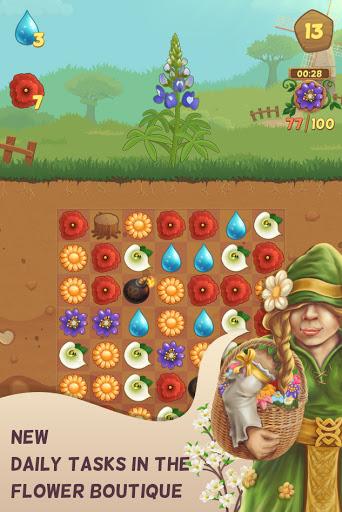 Flower Book: Match-3 Puzzle Game 1.149 screenshots 6