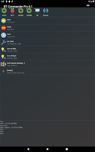Bluetooth Commander Pro Screenshot