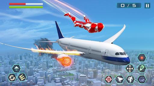 Super Speed Rope Hero : Flying Superhero Games 1.3 screenshots 1