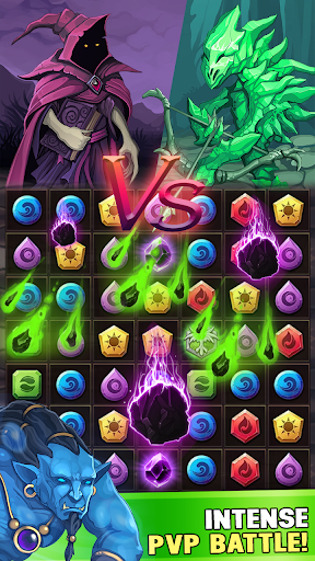 Monsters & Puzzles: RPG Match 3 1.0.8 screenshots 1