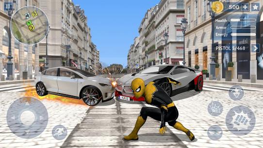 Spider Rope Hero: Crime City Battle 1