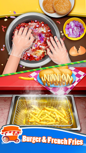 Street Food Stand Cooking Game for Girls 1.5 screenshots 3