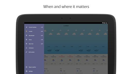 Yandex.Weather apktram screenshots 11
