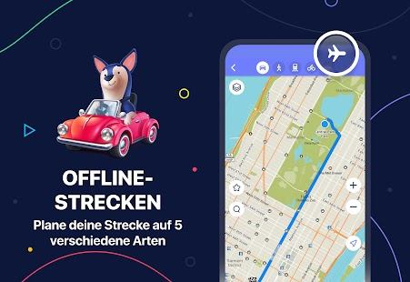 MAPS.ME – Offline-Karten, GPS-Navigation Screenshot